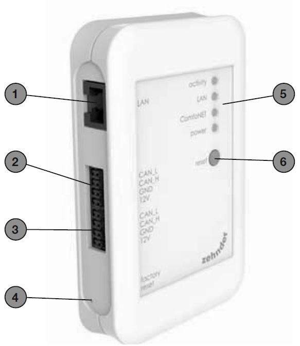 Zehnder Schnittstelle ComfoConnect KNX C