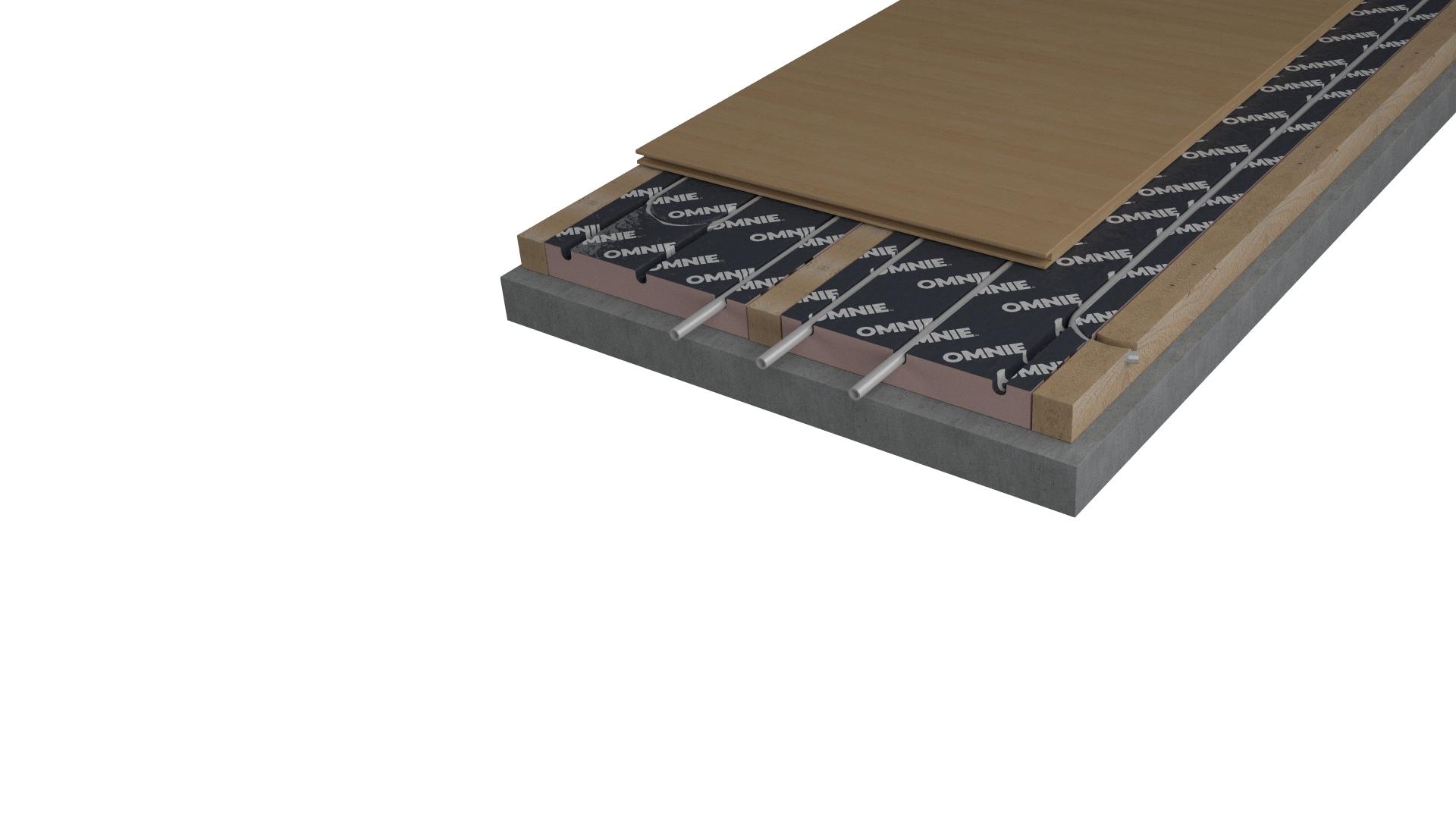 FoilBatten – for batten floors
